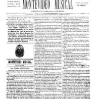 Montevideo Musical nº 1