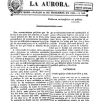 La Aurora nº 1
